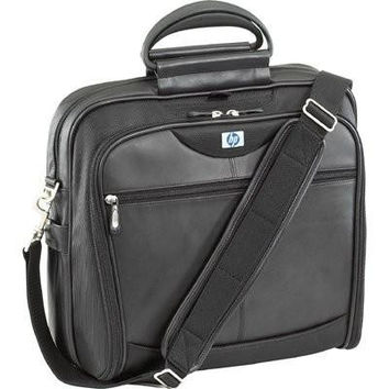 "HP Ultra Nylon-Leather Notebook Carrying Case Up To 17"" PA845A"