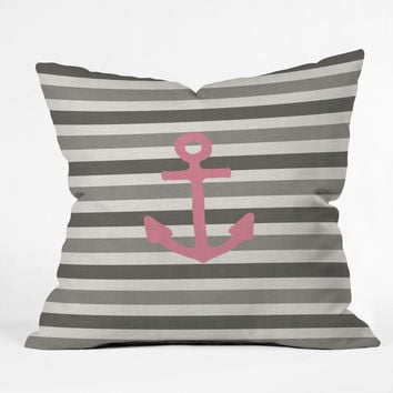 Bianca Green Stay 3 Throw Pillow