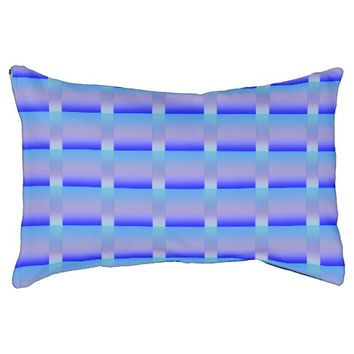 Shades of Blue Dog Bed