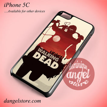 Daryl Dixon The Hunters Phone case for iPhone 5C and another iPhone devices