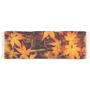 FLAMING AUTUMN SCARF