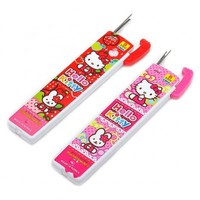 Hello Kitty 0.5mm Mechanical Pencil Lead Set of 2 Leads School $1.99