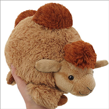 Mini Squishable Camel: An Adorable Fuzzy Plush to Snurfle and Squeeze!