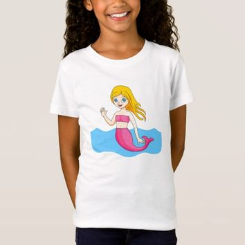 Pink Mermaid T-Shirt