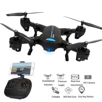 Mini A6 Foldable Drone With Wifi FPV HD Camera