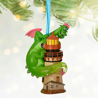 Disney Store Pete's Dragon Elliot 2016 Sketchbook Christmas Ornament New w Tags