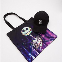 Jack Skellington Dad Hat and Tote Bag - The Nightmare Before Christmas - Spencer's