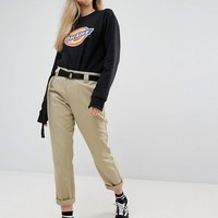 Dickies Oversized Sweatshirt With Logo Print at asos.com