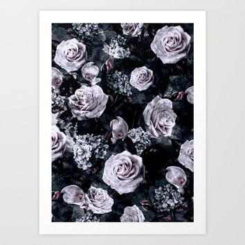 Dark Love Art Print by RIZA PEKER