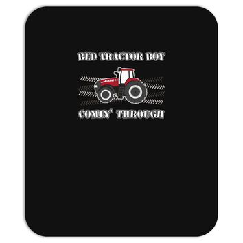 case ih red tractor boy comin' through Mousepad
