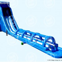 37' North Shore Giant Water Slide, Biggest Water Slide Inflatable | Magic Jump Inc.