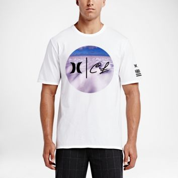 Hurley Clark Little Whitewash Premium Men's T-Shirt