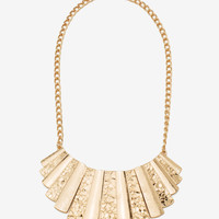 Golden Touch 3t Metal Short Necklace