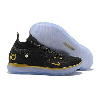 Nike KD 11 Black Gold Kevin Durant Sneakers