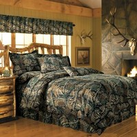 Cabela's Seclusion 3D® Camo 12-Piece Bedroom Ensemble