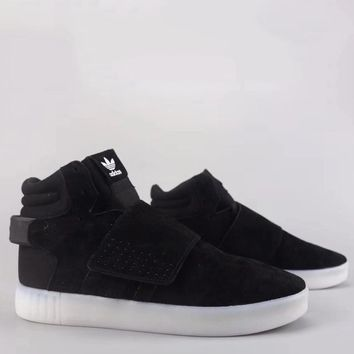 Adidas Tubular Invader Strap Fashion Casual High-Top Old Skool Shoes-6