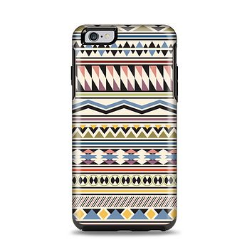 The Tan & Color Aztec Pattern V32 Apple iPhone 6 Plus Otterbox Symmetry Case Skin Set