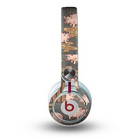 The Cartoon Muddy Pigs Skin for the Beats by Dre Mixr Headphones