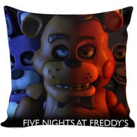 Five Nights At Freddy's Pillow.