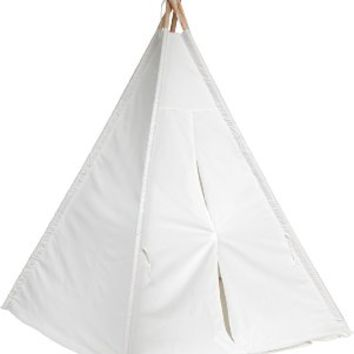 Trademark Innovations Authentic Giant Canvas Teepee Playhouse, 6'