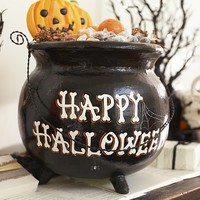 Paper Mache Cauldron Treat Vessel | Pottery Barn Kids