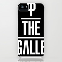 P the GALLE iPhone & iPod Case by Chrisb Marquez