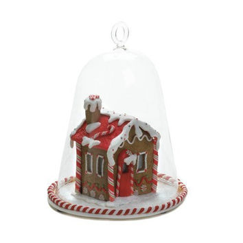 Home Locomotion - Gingerbread House Bell Jar