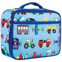 Olive Kids Trains, Planes & Trucks Lunch Box - 33079