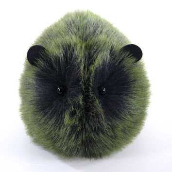 Clive the Green Guinea Pig Stuffed Animal Plush Toy