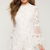 Jocelyn Lace Romper