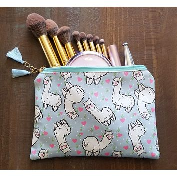 Alpaca Love Travel Pouch