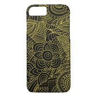 doodling art iPhone 7 case
