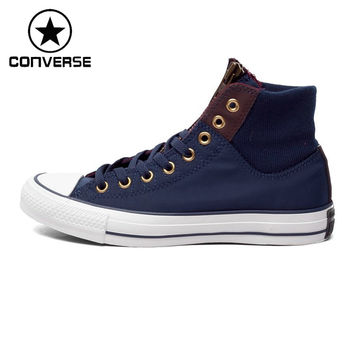 STYLISH TRENDY Original Converse ALL STAR Men's high-top Skateboarding Shoes Sneakers free shipping - TMACHE