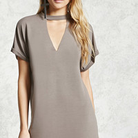 Cutout Mini T-Shirt Dress