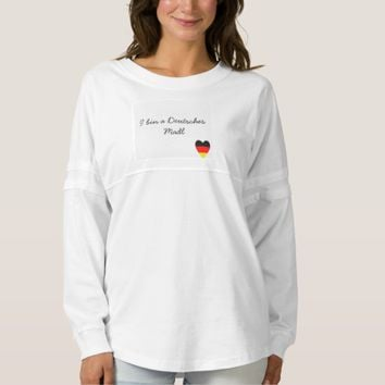 Deutsches Madl Damen Shirt