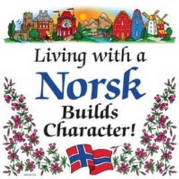 Kitchen Wall Plaques: Living With Norsk