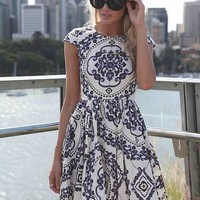 PAISLEY PRINT DRESS  , DRESSES,,Minis Australia, Queensland, Brisbane