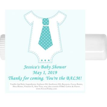 15 Boy Little Man Baby Shower Lip Balm Favors