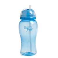 Bornfree-summer Infant Twist 'n Pop Straw Cup - Blue - 14 Oz - 1 Cup