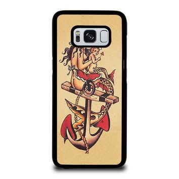 TATTOO SAILOR JERRY Samsung Galaxy S3 S4 S5 S6 S7 Edge S8 Plus, Note 3 4 5 8 Case Cover