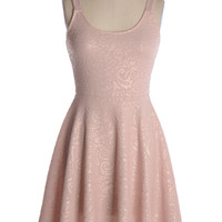 Just My Luck Dress in Blush - $44.95 : Shop Cute Dresses and Clothing - Canada