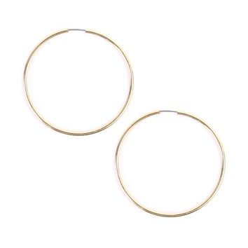 Endless Medium Hoop Earrings