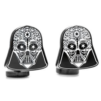 Darth Vader Sugar Skull Cufflinks BY STAR WARS