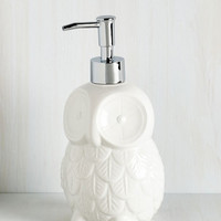 Owls Sink About It Soap Dispenser by ModCloth