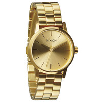 Nixon The Small Kensington Watch All Gold One Size For Women 20635862101