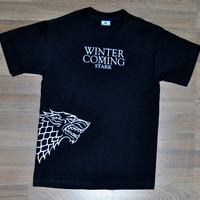 Game of Thrones House of Stark Direwolf shirt by jerryamsterdam