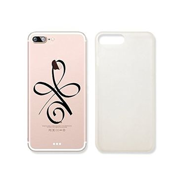 Strength Henna Symbol Slim Iphone 7 Case, Clear Iphone 7 Hard Cover Case For Apple Iphone 7 -Emerishop (iphone 7)