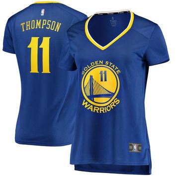 Women's Golden State Warriors Klay Thompson Fanatics Branded Royal Fast Break Replica Jersey - Icon Edition