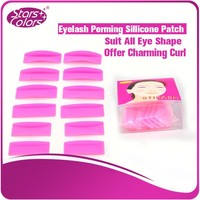 Baby Perm Patch high quality perming patch for eyelash extension/eyelash extension perming patch 6 pairs/bag