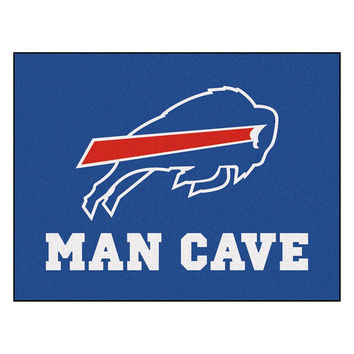 Buffalo Bills NFL Man Cave All-Star Floor Mat (34in x 45in)